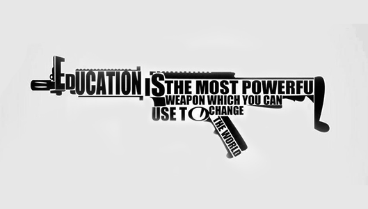 Education Is Most Powerful Weapon To Tackle World Issues